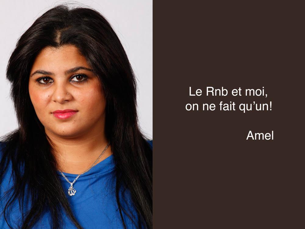 Amel, chanteuse de RNB