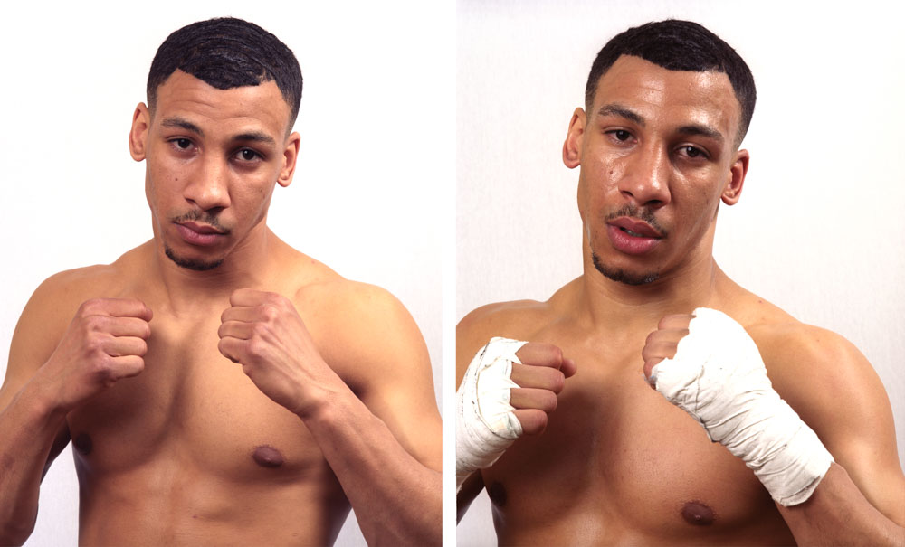 Lafif Mehdi, Professionel boxe anglaise, Boxing club de Blagnac Combat du 22 février 2008 Super-legers