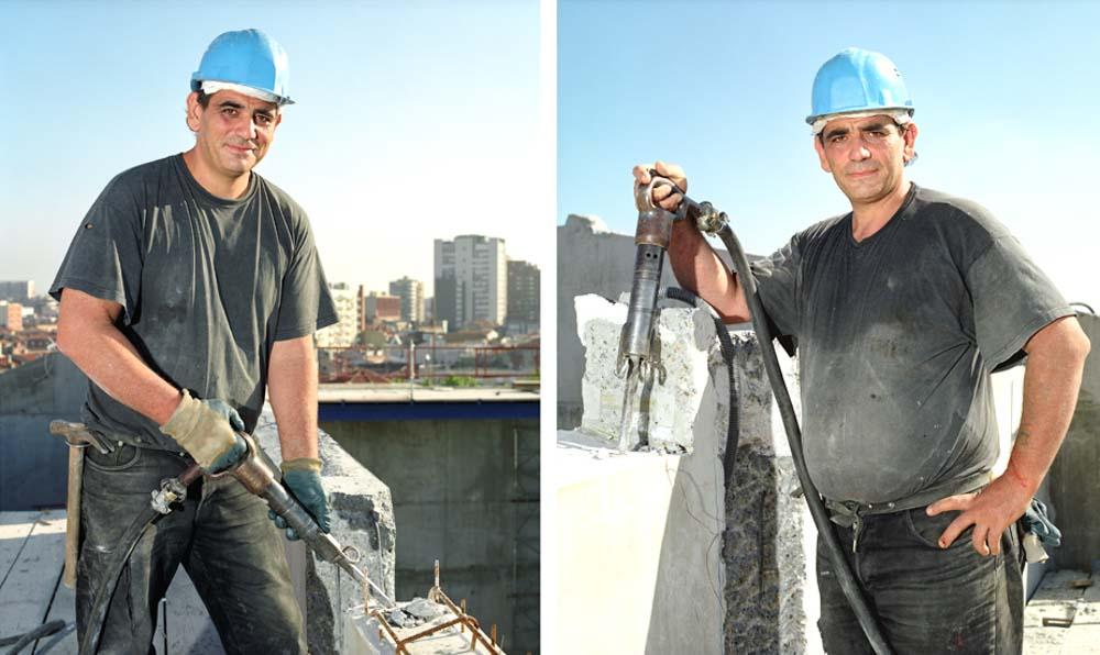 Les hommes du chantier