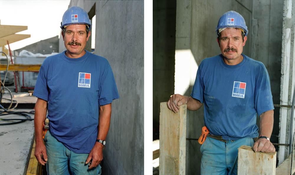 """""""Les hommes du chantier"""""""