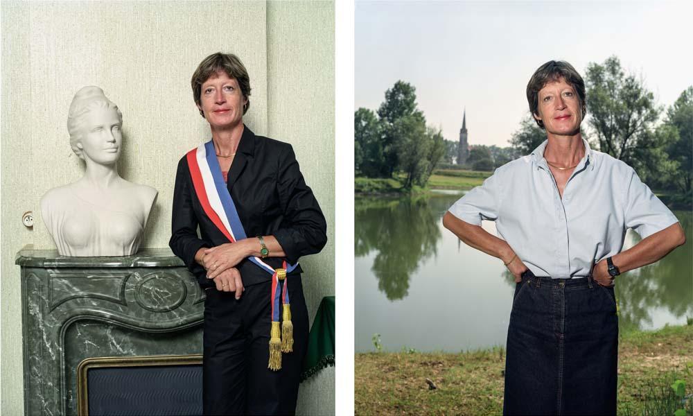 Madame Jocelyne Labat, Maire de Saint-Pardoux-du-Breuil