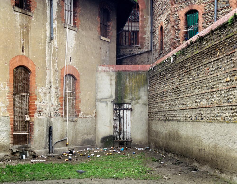 cour de promenade Décembre 2002