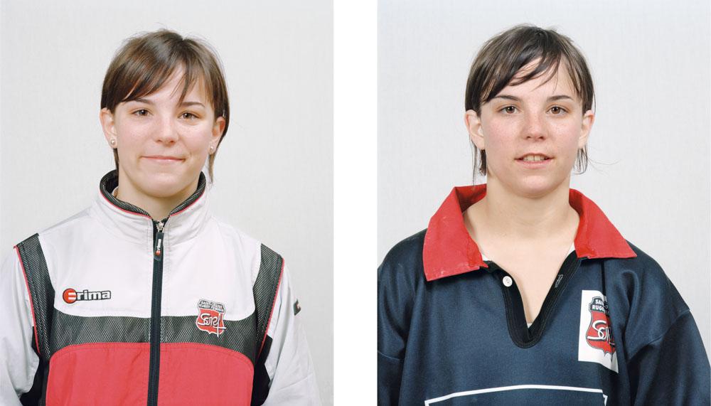 Portraits joueurs de rugby: Émilie Belondrade demi-de mêlée, française