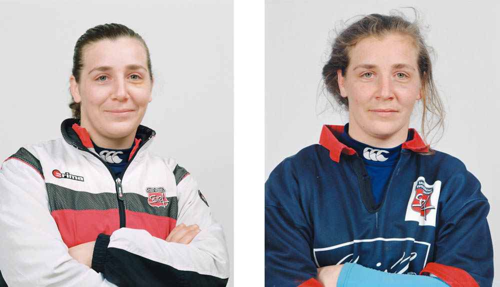Portraits joueurs de rugby: Sabrina Delmas, demi-d'ouverture internationale française