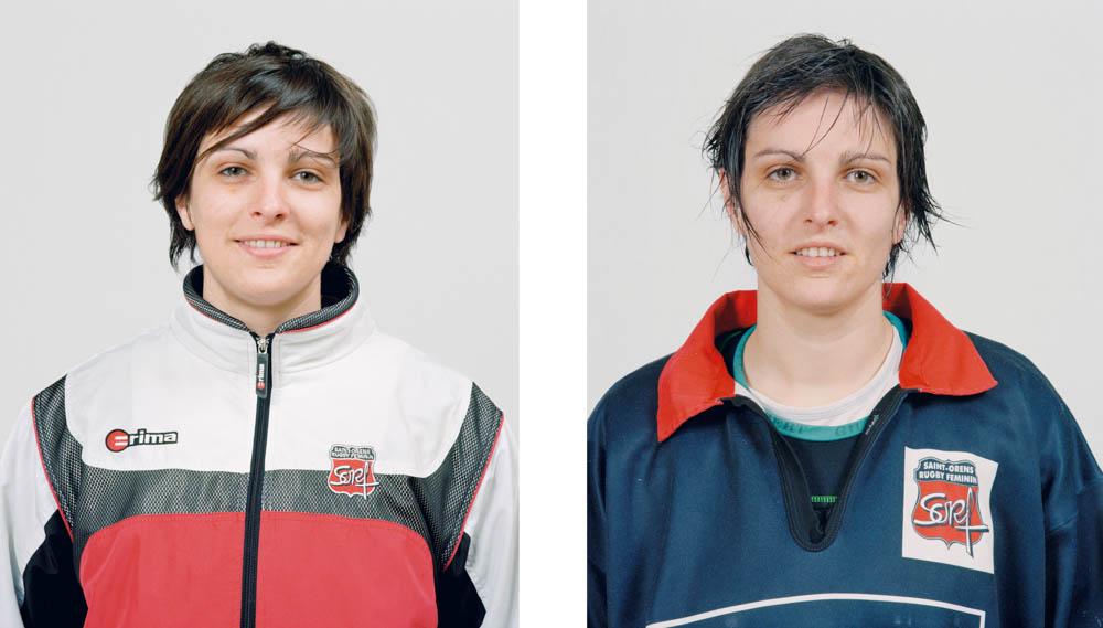 Portraits joueurs de rugby: Caroline Marcipont, deuxième ligne