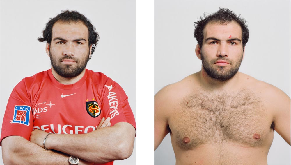 Portraits joueurs de rugby: Salvatore Perugini, Pilier international italien