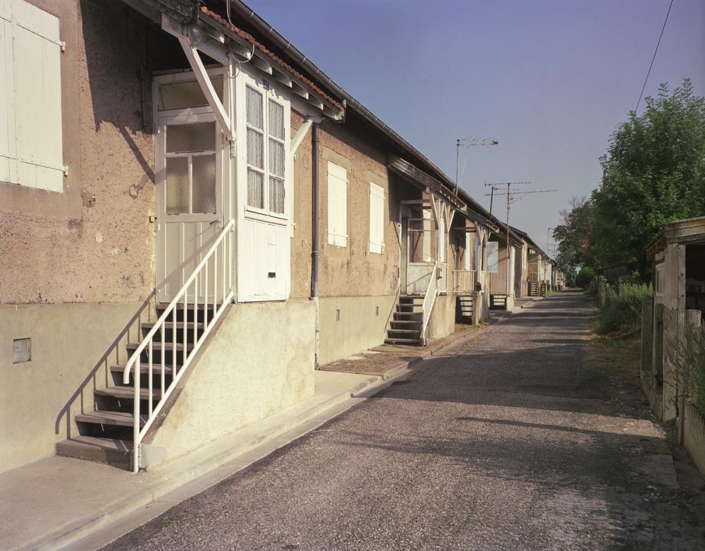 Carmaux Maison de la cité des HOMP à Cagnac les Mines