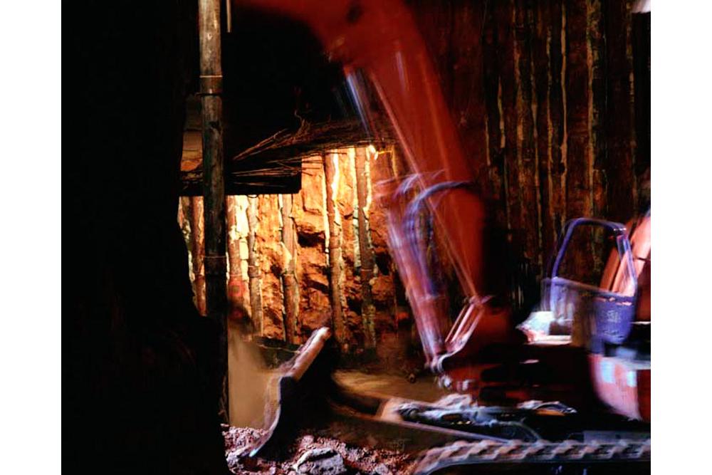 Chantier de rénovation Musée Toulouse-Lautrec d'Albi micros pieux