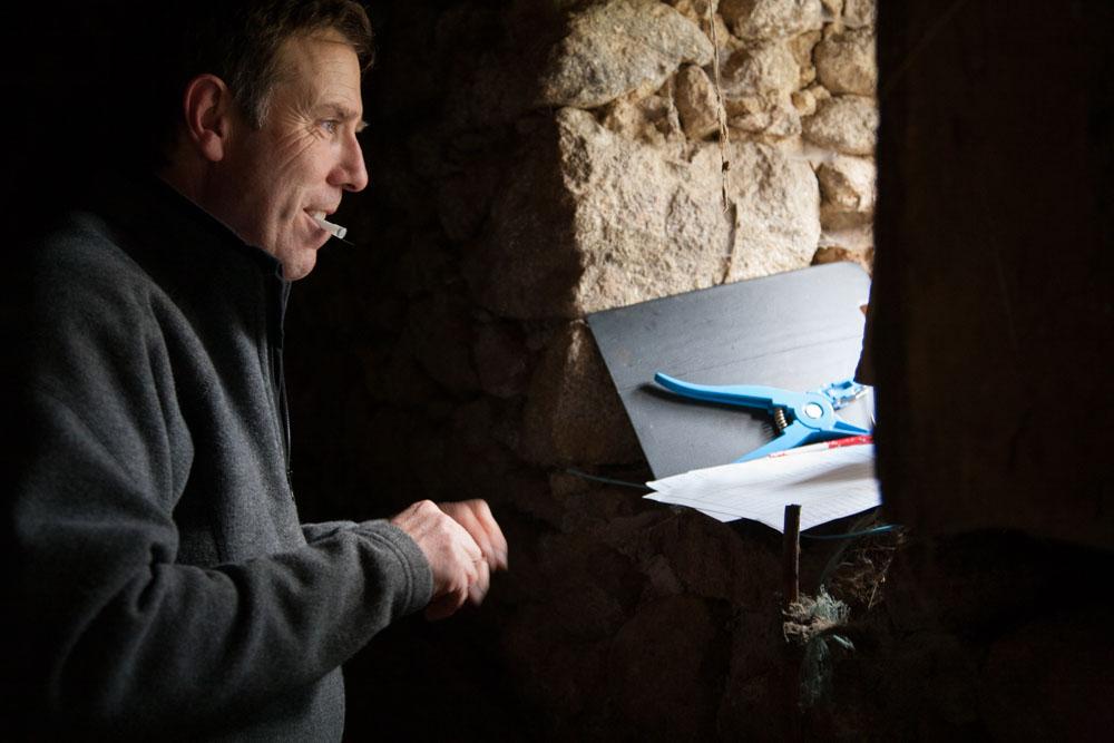 Graham Hart vétérinaire anglais dans les pyrénées ariègeois