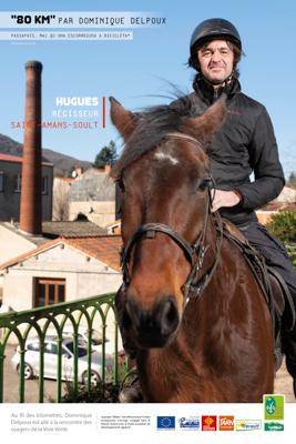 Usagers voie verte Parc naturel Haut-Languedoc