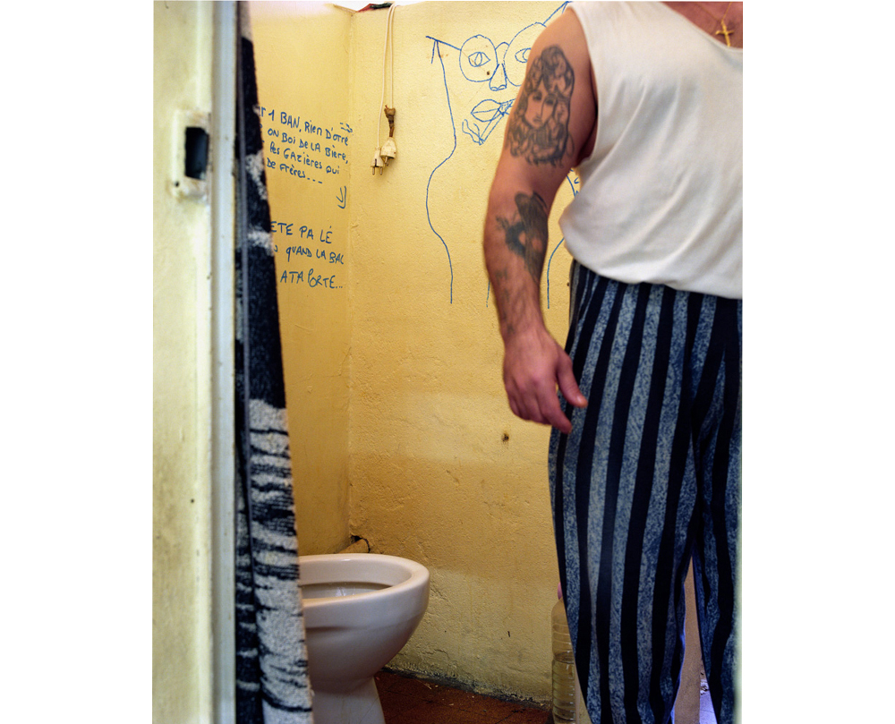 cellule, quartier homme Décembre 2002