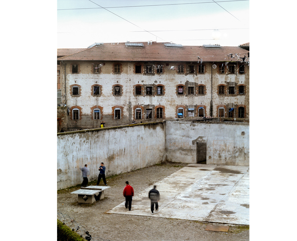 promenades mineurs, depuis le mirador Décembre 2002