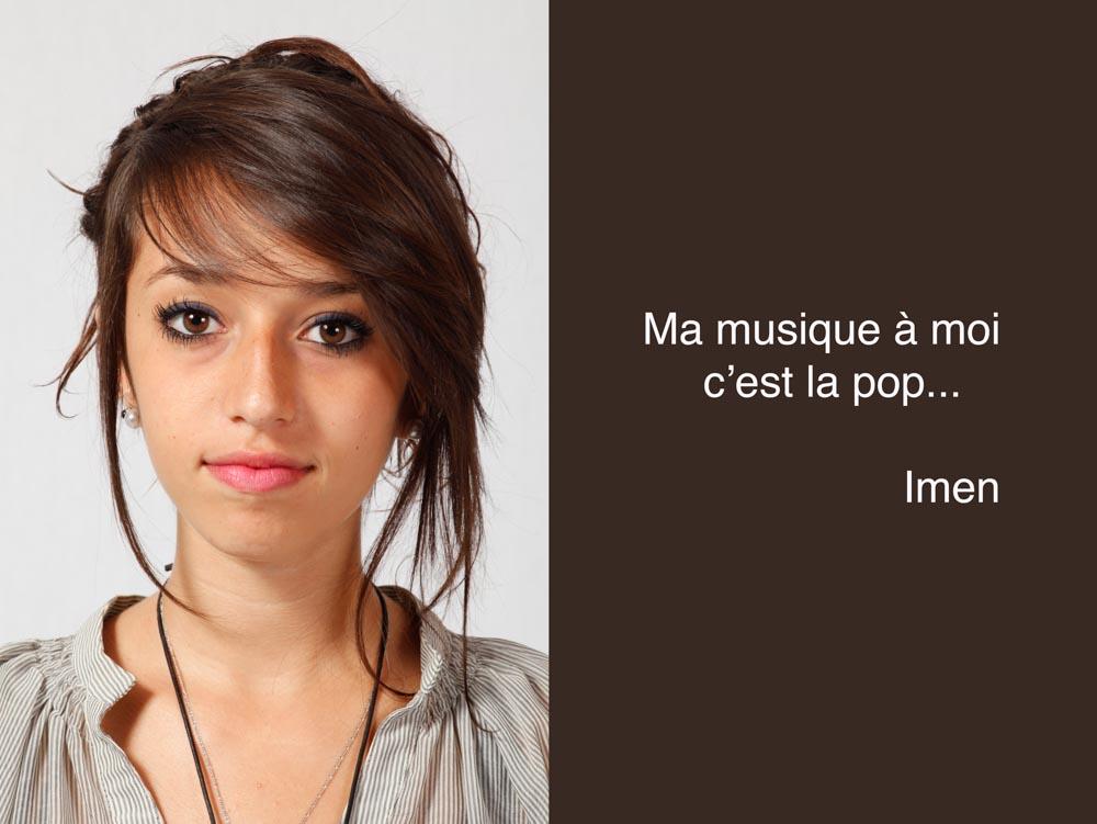 Imen aime la pop