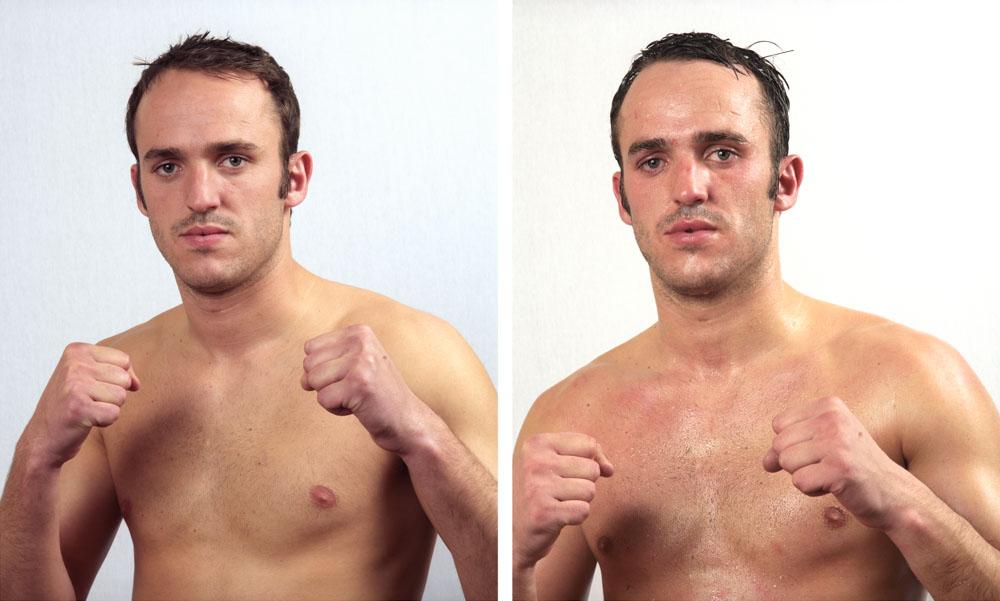 Hollard Loyd, professionel boxe anglaise; Cub de Saint Dizier; Combat du 22 février 2008 Super-Moyens