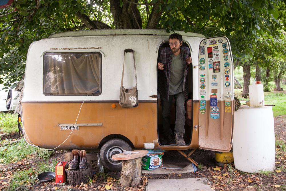 Vivre et habiter autrement Vivre en caravane à l'année