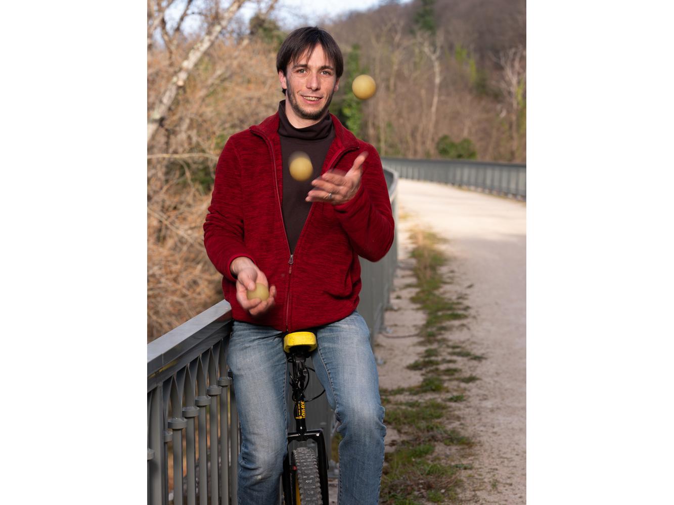 Luther, employé, st vincent usagers voie verte Parc naturel Haut-Languedoc région Occitanie