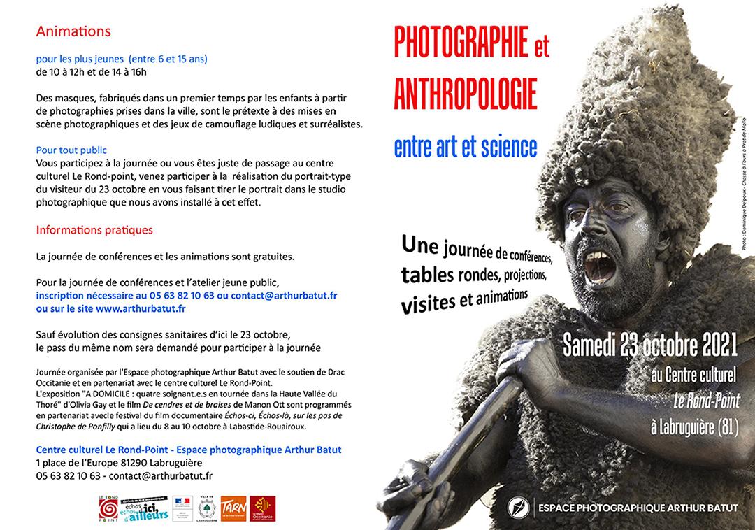 Affiche programme anthropologie et photographie
