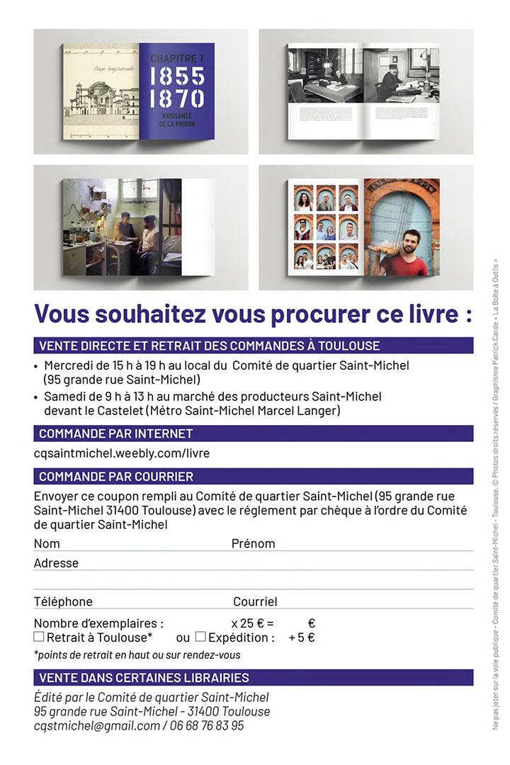Bon commande livre prison Saint Michel
